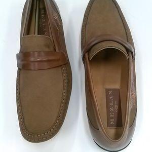 Men Mezlan Brown Shoe
